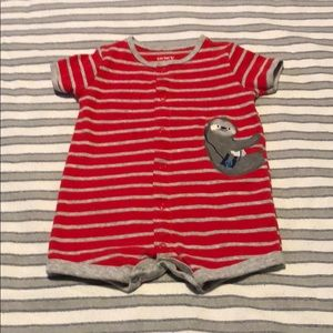 Carter's Snap-up Sloth Romper